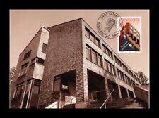 DR JIM STAMPS GAMPRIN PRIMARY SCHOOL FDC LIECHTENSTEIN MAXIMUM CARD