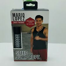 Cross Training Speed Jump Rope soft grip hanlde