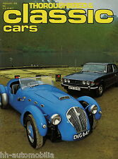 Classic Cars GB 2 78 1978 Healey Silverstone Marcos Reliant Sabre Triumph Stag