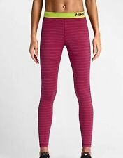 Polyester Lightweight Striped Leggings for Women