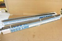 ROCO LINE 42400 HO GAUGE PACK of 48 9200mm LONG WOODEN SLEEPER FLEXI TRACK nq