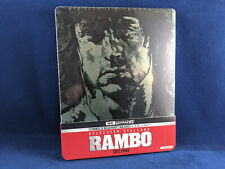 RAMBO Trilogy 4K UHD Steelbook Bluray Stallone First Blood Trilogie *Lire/Read*