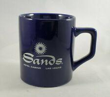 Vintage Sands Hotel & Casino Mug Navy Blue Las Vegas Nevada