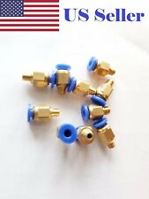 10pcs Bowden Pneumatic PC4-M6 Connector J-head Fit Hotend for Reprap 3D Printer