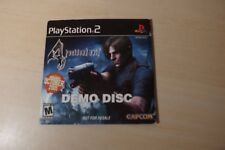 PS2 Resident Evil 4 Demo Disc Used RARE