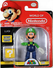 World of Nintendo ~ LUIGI (WAVE 11) ACTION FIGURE ~ Super Mario Bros.