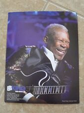 BB King Blues Guitar Live 8x10 OFFICIAL Concert Merch Booth Photo #2 READ