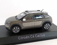 Citroen C4 Cactus 2014, olive braun, NOREV 1:43