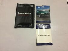 FORD TERRITORY SY MKII OWNERS MANUAL & SERVICE BOOK .No Writing In Manual Only