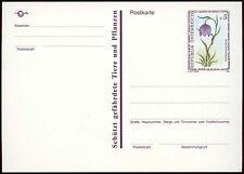 Austria 1993, 5s Flower Stationery Card Unused #C21444