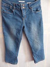 Pantacourt en jean, camaïeu, taille 38