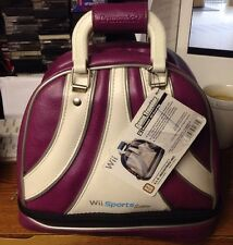 Wii Game Traveler Brunswick Travel Bag - Purple Nintendo ALS Industries
