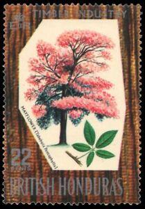 "BRITISH HONDURAS 232 (SG274) - Mayflower Tree ""Tabebuia pentaphylla"" (pb13961)"