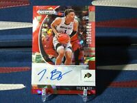 Tyler Bey RC Auto 2020-21 Prizm Draft Picks Red Cracked Ice Rookie Prizm Auto SP