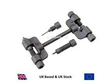 MOTORCYCLE ATV CAM CHAIN BREAKER AND RIVETING TOOL SUITABLE FOR HOLLOW PIN HEADS