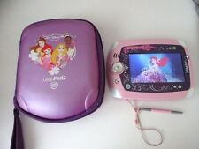 LeapPad 2 Explorer Pink Princess Case  6 Game Cartridges