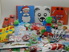 100 Small CHRISTMAS Party Bag/Pinata Fillers/Toys/Favours/ Lucky Dip Prizes XMAS
