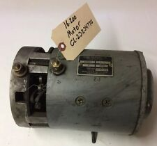 2323477 Clark Forklift EC500-50-E355 Good Used Steer Pump Motor Assy 16.200