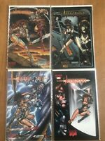 Avengelyne Maximum Press comics 1,1a, 2, 3 1995 1996 chromium cover nm vf run