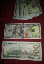 $1000 Dollars $100 bills Best Novelty Prop Movie Money Fake Play Prank Money
