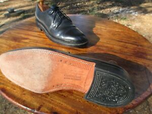 VTG DACK'S CANADA  411 / 11 D Original 7-Nail Sole & Heel Very Lightly Worn