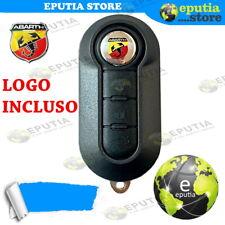 GUSCIO CHIAVE SCOCCA TELECOMANDO FIAT 500 Con LOGO ABARTH INCLUSO