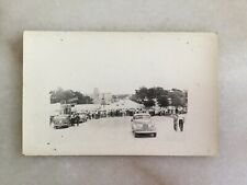 1949 Fort Worth Flood RPPC Postcard Photo Stadium Drive In Liquor Store