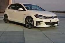 Facelift GOLF 7 GTD GTI Lippe Diffusor Spoilerlippe Frontansatz Spoiler VW