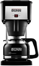 Bunn Coffee Maker 10 Cup Drip Machine Stainless Black 3 Minute Brew