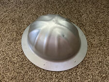 New listing Vintage B F McDonald Co Safe T Hat Aluminum Hard Hat D7 Full Rim Size L Large