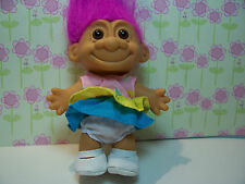"""BABY GIRL / TODDLER - 5"""" Russ Troll Doll - NEW IN ORIGINAL WRAPPER"""