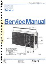 Philips Original Service Manual für 90 AL 765