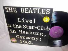 BEATLES-LIVE! AT STAR-CLUB HAMBURG GERMANY 1962-BLS 5560 NO BARCODES NM/VG+ 2LP