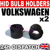 2x XENON HID BULB BASES HOLDERS H7 VW Golf Mk6 GTi TDi