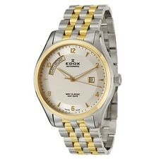 Edox Men's  83013-357J-AID WRC Classic Day Date Swiss Automatic ETA 2824 Watch