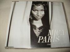 MICA PARIS - I NEVER FELT LIKE THIS BEFORE - UK CD SINGLE