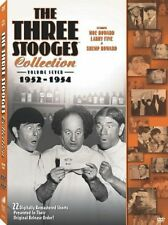 Three Stooges Collection, Vol. 7: 1952-1954 (DVD, 2009, 2-Disc Set) New