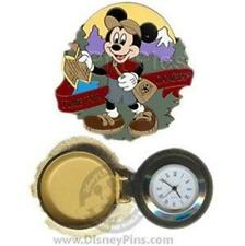 MICKEY Hinged WATCH PIN GIFT LE 500 DISNEY DAY CAMPIN' EVENT 2008 EARLY REGISTER