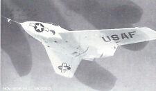 Northrop X4 US Air Force   Black & White  Postcard 5113
