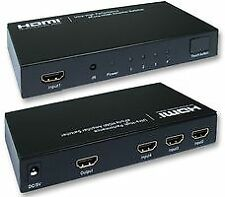 SWITCH HDMI 4 WAY WITH REMOTE Audio Visual Switches - CJ68788