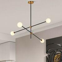 Modern Sputnik Chandelier Bubble Pendant Light Ceiling Fixture Decor 2/3/4 Light