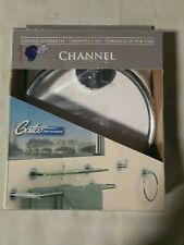 Gatco 4682 Wall Mounted Towel Ring from the Channel Series - Chrome