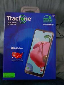 LG Reflect LGL555DL - 32GB - Titan (TracFone) 1500 min, texts, data included