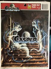 New ListingVintage Casper the Friendly Ghost Frame Tray Puzzle Golden 1995 12 Pieces