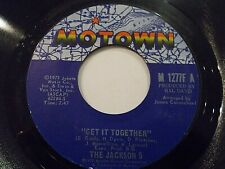 The Jackson 5 Get It Together / Touch 45 1973 Motown Vinyl Record
