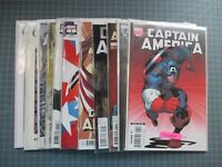MIXED LOT OF 11 MARVEL CAPTAIN AMERICA VARIANTS #1'S