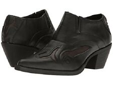 Roper Western Bootie Womens Size 8.5 B Black 09-021-1557-0318 BL $89.99