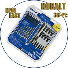 KOBALT 38-piece Drill and Drive Set with Speed Fit - 751804 - NEW & SEALED
