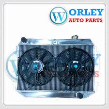 Alloy Radiator Holden Torana HQ HJ HX HZ HK Kingswood Chevy Engine V8+Fan Manual