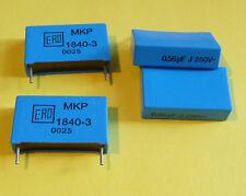 10x org. ERO MKT 0,56uF 560nF 250V 1840-3 0025 NOS Kondensator Audio Qualität